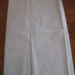 Flat tissue paper
