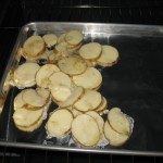 It's Recipe Day – Baked Potato Rounds, Broiled Salmon, Giant Ginger Cookies