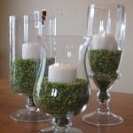 St. Patrick vases
