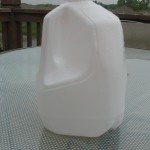empty milk jug