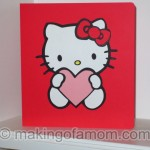 Silhouette Turtorial: Hello Kitty Valentine Card