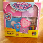 Shrinky Dinks I Heart You Cards Review and Giveaway