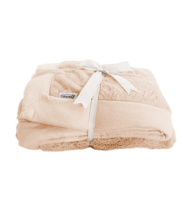 taupe bamboo blanket