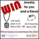 Kranich's Jewelry Mission Giveaway