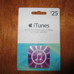 $25 iTunes Gift Card FLASH #MissionGiveaway
