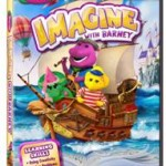 Imagine With Barney DVD Giveaway