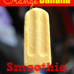 Delicious Orange Banana Smoothie Pops