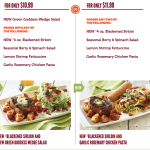 Cure Food Envy With Applebee's Take Two Menu