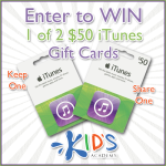 Kids Academy (2) iTunes $50 Gift Card #MissionGiveaway