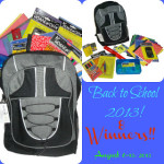 Back to School Giveaway 9 Winners Ends Aug. 13