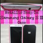 Case Crown's Metallic Clip On Smartphone Case