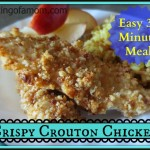 Easy 2 Step Crispy Crouton Chicken