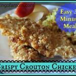 Easy 2 Step Crispy Crouton Chicken