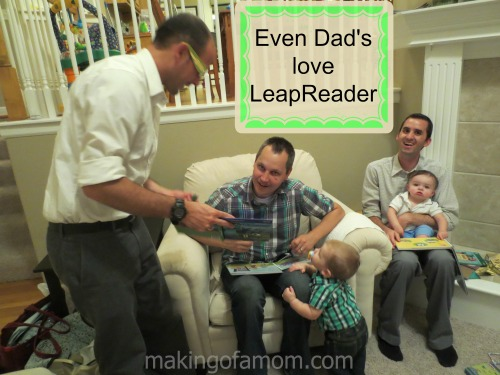 Dads_Leap_Readers