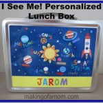 I See Me! Personalized Lunch Box Makes Lunchtime a Blast