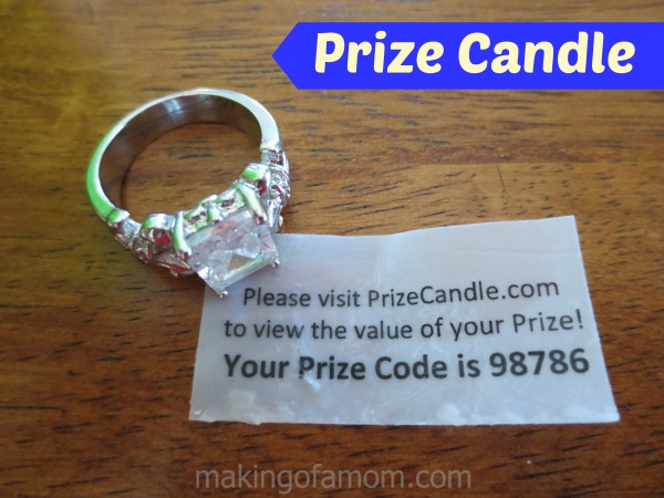 Prize Candle Ring Code