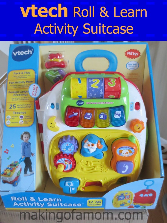 vtech® roll and learn activity suitcase™ | eBay