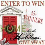 Home for the Holidays HUGE Giveaway Event – 60 Winners!