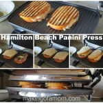 Cooler Weather Requires Warm Sandwiches – Hamilton Beach Panini Press