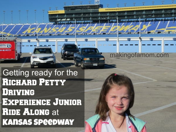 Richard petty driving experience junior ride along for Ride along charlotte motor speedway