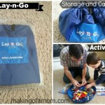 Easy Clean Up With Lay-N-Go + Giveaway