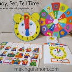 Ready, Set, Tell Time with Educational Toys Planet