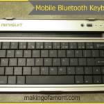 Mobile Bluetooth Keyboard for a Google Nexus 7