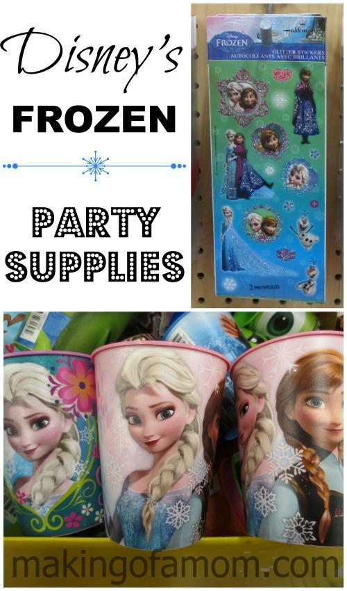 frozen party supplies frozen party favors snow queen party supplies