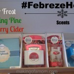 Scented for the Holidays with #FebrezeHoliday Smells