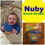 Keeping Snacks Contained with Nuby
