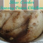 Savory Onion Chicken – A Slow Cooker Meal