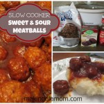 Sweet & Sour Meatballs – Slow Cooker Recipe