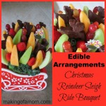 Reindeer Sleigh Edible Arrangements