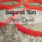 Make some 'Sweet' Party Glasses
