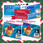 Holiday Shopping Spree Visa Gift Card Giveaway