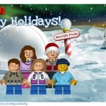 My LEGO Family Christmas Card