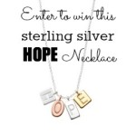 HOPE Necklace Giveaway from HugaMom.com