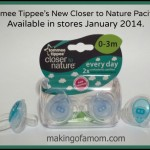 Tommee Tippee Closer to Nature New Pacifiers