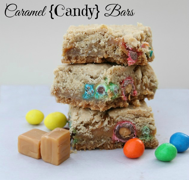 Caramel Candy Bars Recipe