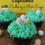 Easter Egg Nest Cupcakes with HERSHEY'S + Giveaway