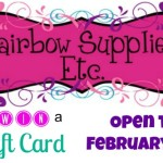 Affordable Hairbow Supplies + Giveaway