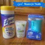 Disinfecting With Lysol to Stay Healthy this Cold and Flu Season