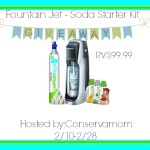 Fountain Jet SodaStream Giveaway