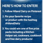 Show Your Pinterest in Hiland Dairy Sweepstakes