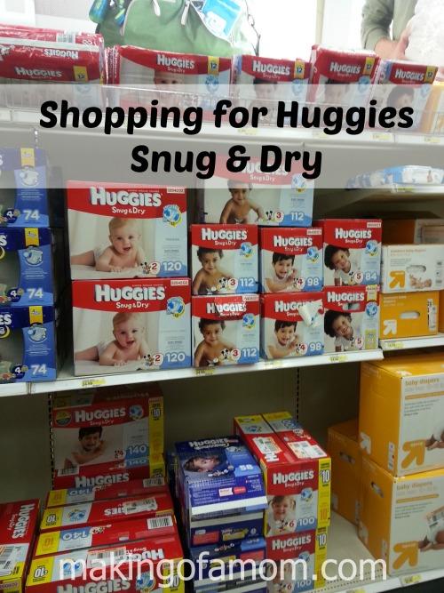 Shopping-Huggies-Snug-Dry