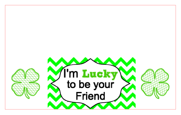 St. Patrick's Day snack bags with free cut files and printables