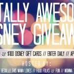 Disney Gift Cards Giveaway
