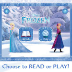 Frozen On the Go with the Frozen Story Book App