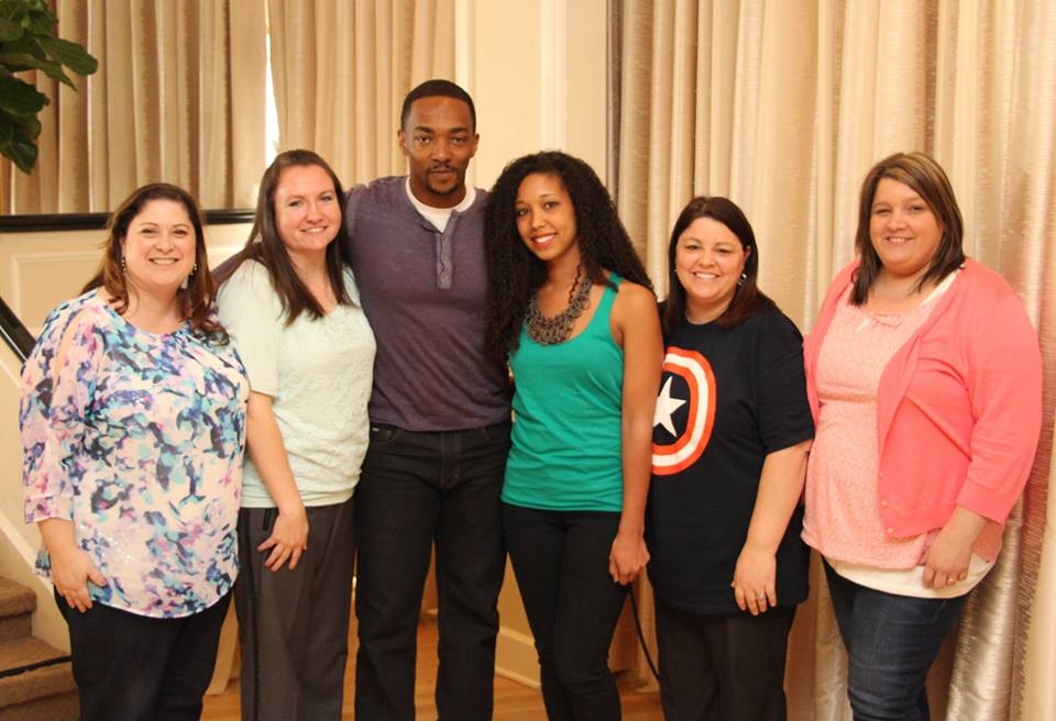 Small Group Anthony Mackie