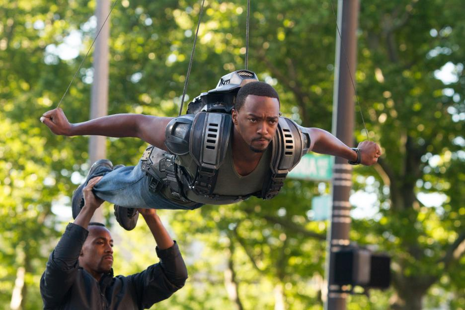 anthony mackie flying